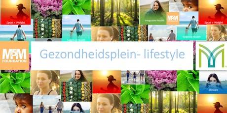 Gezondheidsplein-Lifestyle tickets