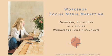 Workshop Social Media Marketing Tickets