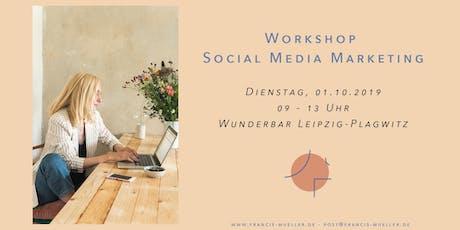 Workshop Social Media Marketing Tickets