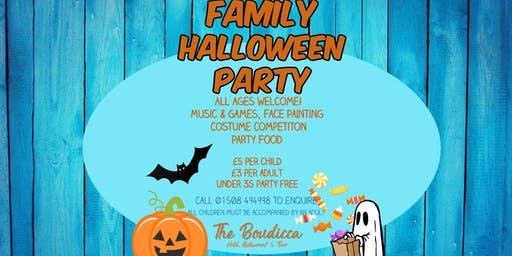The Boudicca's Family Halloween Event!