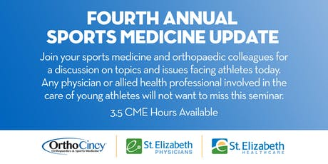 Fourth Annual Sports Medicine Update tickets