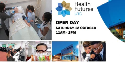 OPEN DAY, Saturday 12th October 2019