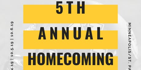 UMNBAN 5th Annual Homecoming Weekend!! tickets