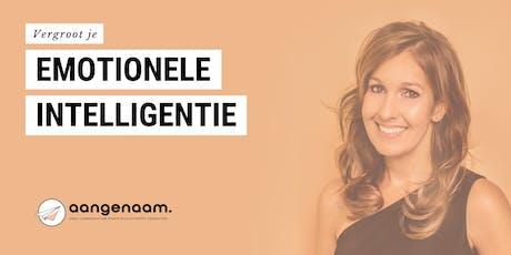 Workshop 'Vergroot je Emotionele Intelligentie' - Jolande Vos  tickets