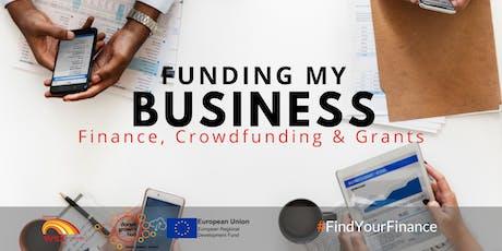 Funding my business - Finance, Crowdfunding & Grants - Blandford - Dorset Growth Hub tickets