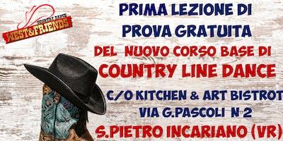 LEZIONE DI PROVA GRATUITA A SAN PIETRO INCARIANO (VR) - COUNTRY LINE DANCE