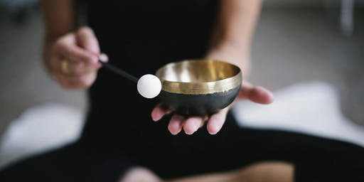 Sound Bath Meditation with Tibetan Singing Bowls