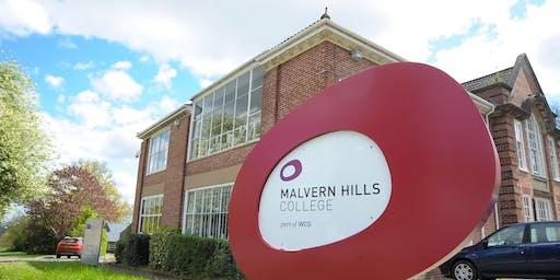 Open Event at Malvern Hills College - November 2019