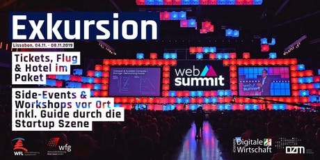 Exkursion: Websummit 2019 Lissabon tickets