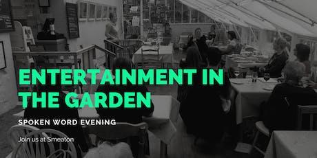 Entertainment in the Garden tickets