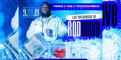 "Rod Wave ""Heart On Ice Tour"" @   #SoldOutSaturdays tickets"