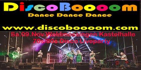 70s/80s Tributeshow mit DiscoBoooom in 78713 Waldmössingen Tickets