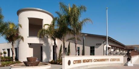 Regional Forum 1B: Citrus Heights tickets