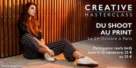 Creative Masterclass Paris billets