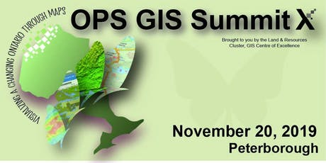 OPS GIS Summit X tickets