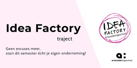 Idea Factory Traject | Workshop 1 billets