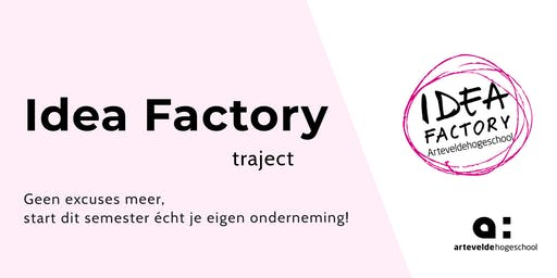 Idea Factory Traject | Workshop 1