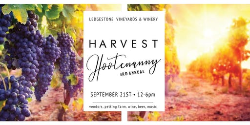 LSV Harvest Hootenanny | September 21st Entry Ticket!