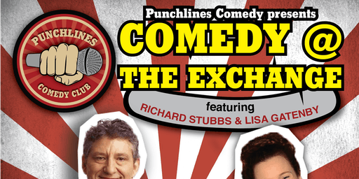Comedy @ The Exchange - Friday 27 September, 2019