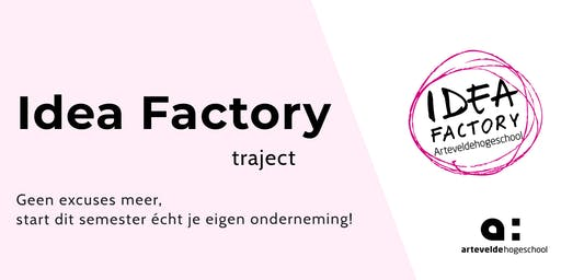 Idea Factory Traject | Workshop 2