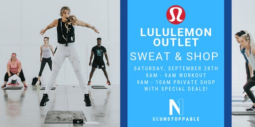 lululemon Outlet: Sweat & Shop