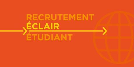 Recrutement éclair étudiant (stages et emplois juniors)- Étudiants billets