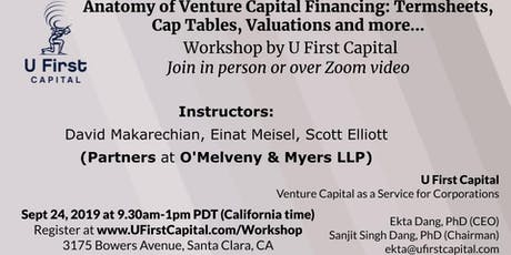 Venture Capital Termsheet Negotiation Workshop tickets