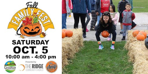 Fall Family Fest and Trick or Trot Run/Walk