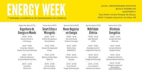 Energy Week - 1ª Semana Acadêmica de Engenharia de Energia ingressos