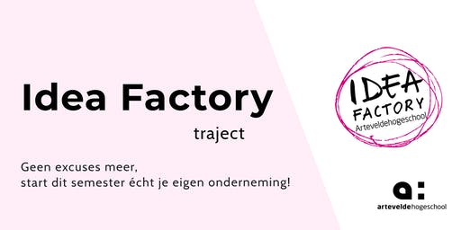 Idea Factory Traject | Workshop 3
