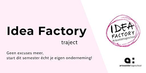 Idea Factory Traject   Workshop 3