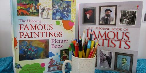 Pre-Schoolers Family Art Workshop (Lostock Hall)