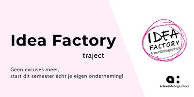 Idea Factory Traject | Workshop 4