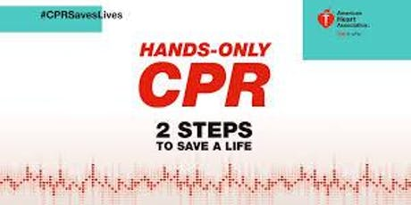 CPR and Stop The Bleed Training tickets