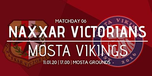 Matchday 06: Naxxar Victorians vs Mosta Vikings