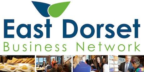 East Dorset Business Network |8th November 2019 |   tickets