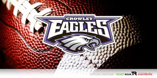 Crowley vs Saginaw FR Football