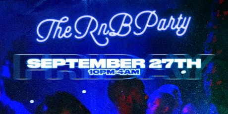 #TheRnBParty tickets