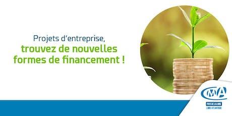 Projets d'entreprise, trouvez de nouvelles formes de financement ! billets