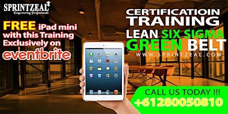 Lean Six Sigma Green Belt Certification Training Darwin tickets