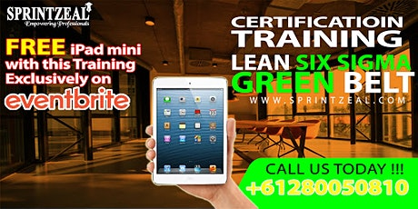 Lean Six Sigma Green Belt Certification Training Canberra tickets