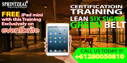 Lean Six Sigma Green Belt Certification Training Melbourne