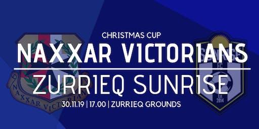 Christmas Cup (Preliminary round): Zurrieq Sunrise vs Naxxar Victorians
