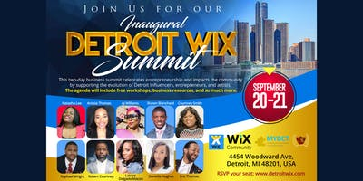 Detroit Wix Summit