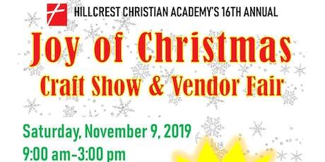 Joy of Christmas Craft Show tickets