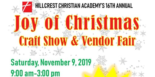 Joy of Christmas Craft Show