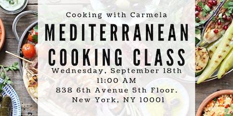 Mediterranean Cooking Class tickets