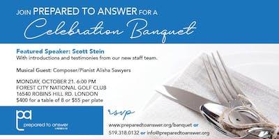 Prepared to Answer Celebration Banquet 2019