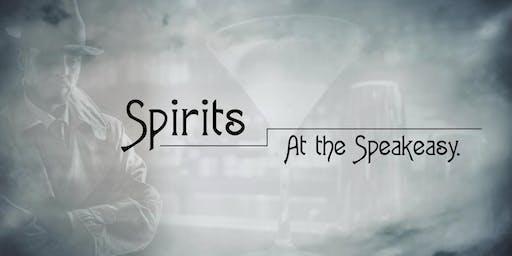 Spirits at the Speakeasy