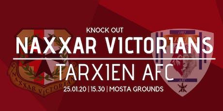 Knock-Out (Preliminary round): Naxxar Victorians vs Tarxien AFC tickets